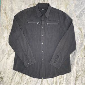 JOHN VARVATOS USA Long Sleeve Button Down Shirt